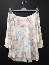Marks and Spencer Floral Boat Neck Casual Women's Tops & Shirts