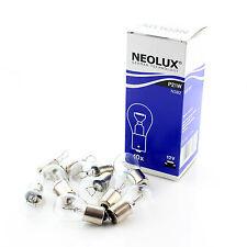 10x Original Neolux grandes Ba15s (P21W 382) 12v 21 W Clara bombillas [ n382 ]