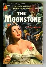THE MOONSTONE by Wilkie Collins, US Pyramid #G88 crime horror gga vintage pb
