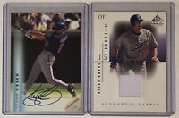 Shawn Green Auto & Jersey Lot ⚾️ Game Used On-Card ⚾️ LA Dodgers