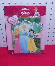 DISNEY PRINCESSES'  DIARY  - SNAP CLOSURE - 50 PAGES