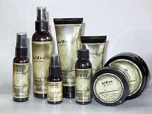WEN By Chaz Dean Full Hair Treatment Kit 8 Piece Set With Travel Size