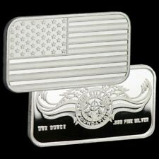 1 oz Silver Limited Edition .999 Pure Chris Kyle Frog Foundation Bar