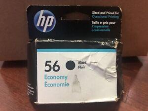 Genuine OEM HP 56 Black Ink Cartridge May 05/2021 - New in Box NIB