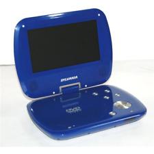 """Sylvania Sdvd7037 7"""" Portable Dvd Player Blue"""