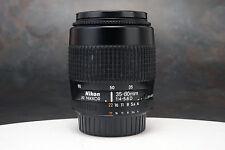 - Nikon AF-D Nikkor 35-80mm f4-5.6 Zoom Lens