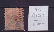 ! Ceylon 1868.  Stamp. YT#46. €40.00 !