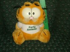 "Dakin Vintage * Garfield * Party Animal! * Retired * Extremey Rare * 8"" * 1978"