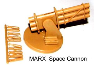 Marx reissue space cannon NON SHOOTING for your 1/32 toy soldiers