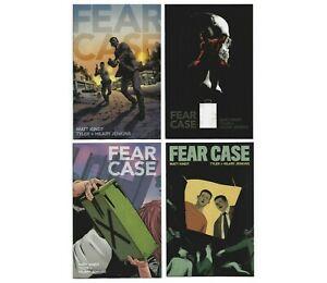 Fear Case 2021 Comic Set 1st Print Variant Cover B Lot Dark Horse #1 #2 #3 #4