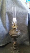 Vintage Antique Table Lamp Oil / Kerosene Converted to Electric*