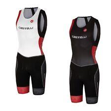 Castelli ITU Tri Suit Black/red M CS160722313