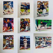 ATLANTA BRAVES - MLB BASEBALL - TOPPS - FREDDIE FREEMAN etc - 25 CARD LOT