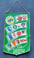 Orig. Wimpel DDR Oberliga 1979/80 Fussball Jahreswimpel BFC Dynamo Jena Leipzig