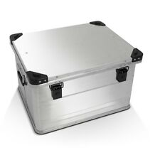 Topcase Bagtecs Aluminium 64 Liter silber Motorrad Alu Top Case Box