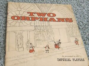 1957 TWO ORPHANS: Presented by Imperial Players, Cripple Creek, Colorado.