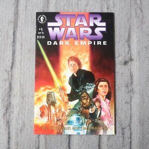 Vintage Star Wars Dark Empire & Tales of the Jedi Comic Book Lot Dark Horse