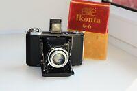 RARE ZEISS IKON IKONTA 521/16 Folding Camera Medium Format w/s NOVAR Anastigmat