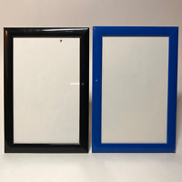 "Vintage Black & Blue Resin Picture Frame 6""X4.5"" Photo 4.5""X 3"" F3"