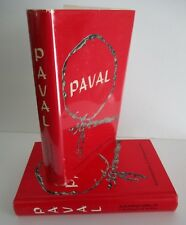 PAVAL Autobiography of A Hollywood Artist, 1968 1st Ed in DJ