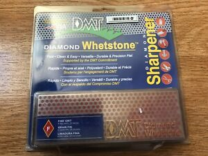 DMT 6 in. W6FP FINE DIAMOND STONE with Case