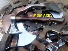 MDM AXEs CUSTOM HAND MADE HB 5160 FORGED HAWK TOMAHAWK VIKING THROWING AXE