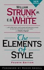 The Elements of Style a Hardcover William Strunk E B White grammar! punctuation!