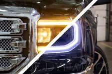 2016-2018 GMC Sierra 1500 LED Halos Diode Dynamics
