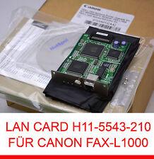 LAN SCHEDA SCHEDA DI RETE RETE AGGIORNARE CANON FAX-L1000 0723A012 H11-5543-210