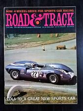 Road & Track July 1965 Lamborghini 350 GT - Mercedes 600 - Porsche 912 - Lola 70
