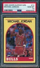 PSA 10 MICHAEL JORDAN 1989-1990 Hoops Sears 100 Superstars RARE GOAT GEM MINT