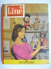 Line reliure album belge n°32 1962 TBE Tintin Lombard
