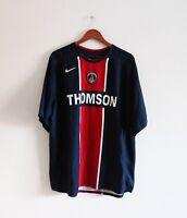 Maillot vintage PSG Paris Saint-Germain Domicile 2005/06 Nike - Taille XL