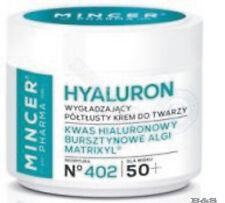 MINCER  HYALURON Antifalten Creme , Hyaluronsäure, Matrixyl N°402 50 ml 50+