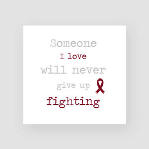Head Neck Cancer Support Card Get Well Soon Sympathy Thinking Of You Chemo