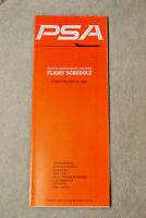 PSA Timetable - June 19, 1970