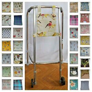Walking frame bag with pockets washable walking aid zimmer frame CLEARANCE SALE