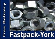"""MIXED PACK X 125 No WHITWORTH, STAINLESS STEEL, HEX NUTS. 75 X 3/16"""" & 50 X 1/4"""""""