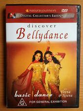 DISCOVER BELLYDANCE with VEENA & NEENA BIDASHA ~ BASIC DANCE ~ AS NEW DVD