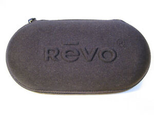 REVO Sunglasses Zipper Style Hard Case Rare 1990s Vintage NOS New