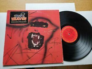 HEAVEN - Where Angels Fear To Tread 1983 METAL HARD ROCK (Lp)