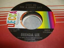 Rock NM! 45 BRENDA LEE Where's the Melody? on Decca 7""