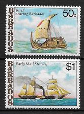 BARBADOS , 1979 , SHIPS , SET OF23 STAMPS , PERF , MNH