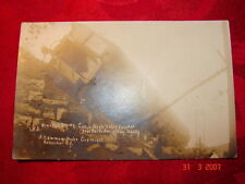 RPPC - LVRR - WRECKED DINING CAR - Rochester, N Y - Aug. 25, 1911 - A. Newman P
