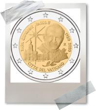 2 EURO *** Vatican 2020  *** Jean-Paul II 100 jaar/ans naissance-geboorte !!!