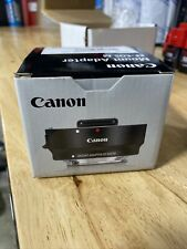 Canon EF-EOS M Mount Adapter for EF Lens to EF-M EOS M