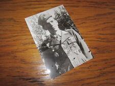 WW2 German Luftwaffe Leutnant Hermann Buchner Autograph - NICE!