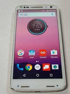 Motorola Droid Turbo 2 XT1585, 32GB, White, Unlocked, Fair Condition: BB214