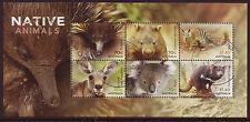 Australie 2015 Native Animaux Bloc-Feuillet Fin Utilisé