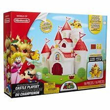 World of Nintendo ~ CASTLE PLAYSET w/BOWSER FIGURE (REGULAR EDITION) ~ JAKKS